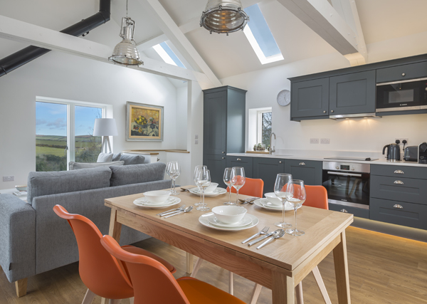 How to furnish a holiday let living area