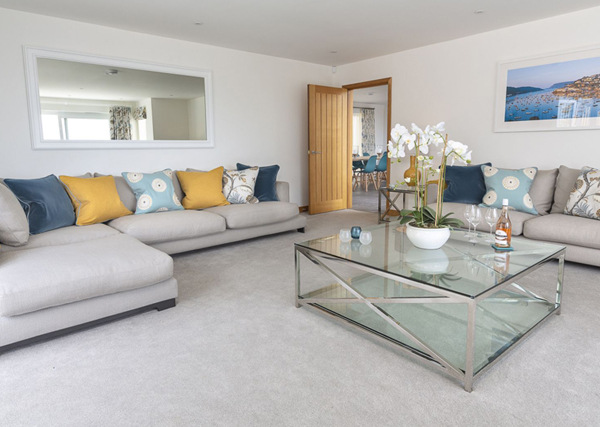 How to furnish a holiday let living room