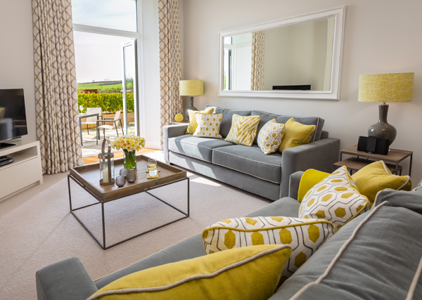 How to furnish a holiday let lounge area