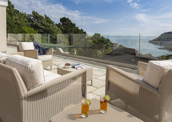 How to furnish a holiday let outdoor area