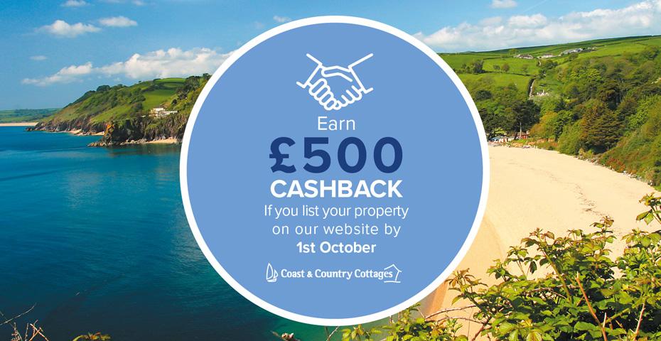 Owner £500 cashback incentive