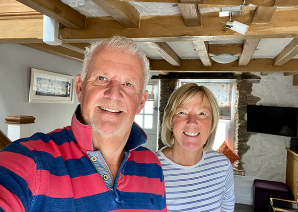 Meet the owners of Pilchard Cottage, Brixham