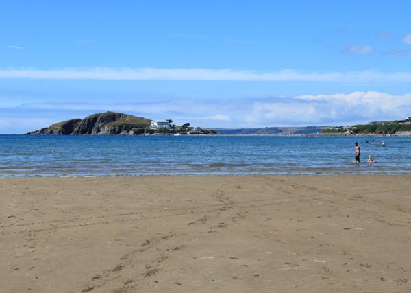 Bantham Beach - accessible beaches in South Devon