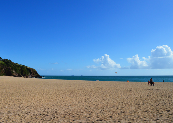Blackpool Sands - accessible beaches in South Devon