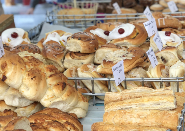 Dartmouth Food Festival pastries