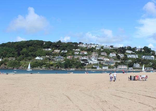 East Portlemouth Beach - accessible beaches in South Devon