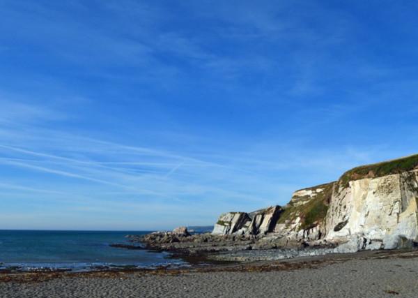 secret devon beaches Ayrmer Cove