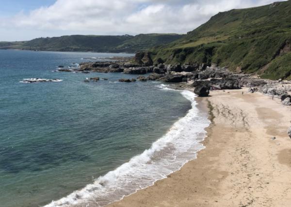 Secret devon beaches Mattiscombe-Beach-near-Start-Point