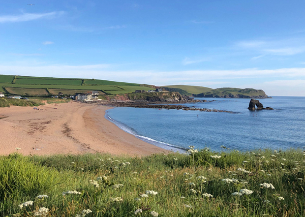 South Milton Sands - accessible beaches in South Devon