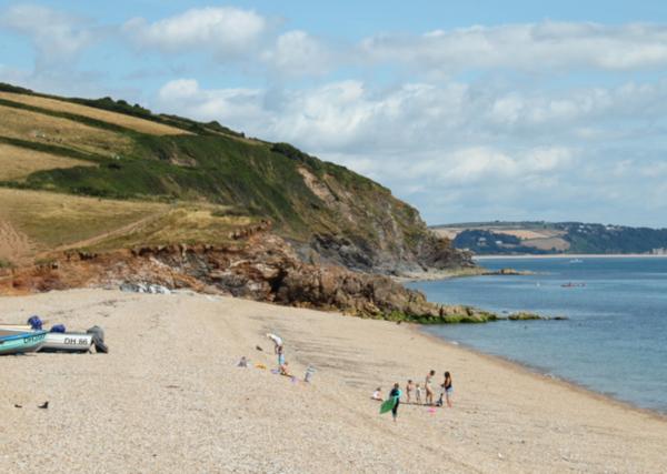 secret devon beaches Hallsands