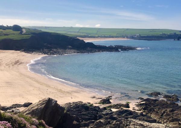 secret devon beaches Leas-Foot-Beach