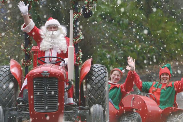 Santa in Devon at Pennywell Farm