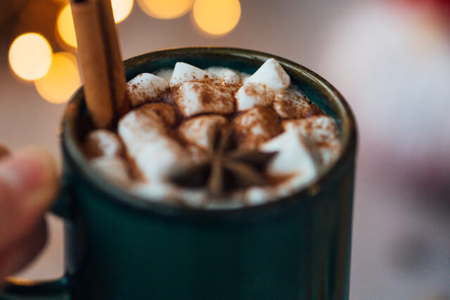 Hot Chocolate on the Polar Express Buckfastleigh